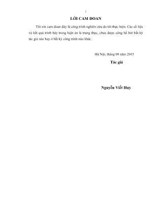Luận án Nghiên cứu đánh giá tính dư trong kết cấu cầu ở Việt Nam
