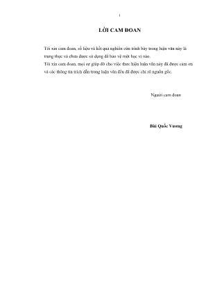 Luận văn Thực trạng bệnh viêm tử cung ở đàn lợn nái ngoại nuôi tại huyện Krông Pắk – tỉnh Đắk Lắk và thử nghiệm điều trị