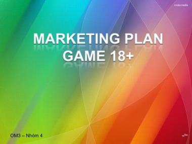 Marketing Plan Game 18+